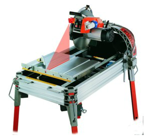 110v Elite 80 Brick Saw Bench