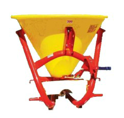 Fertilizer Hopper : Spreader