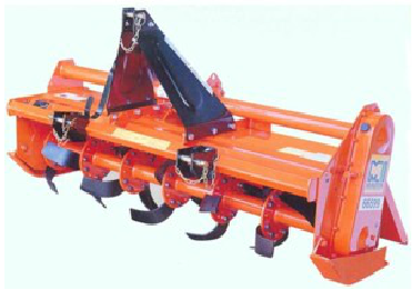 Rear Mounted Rotary Hoe